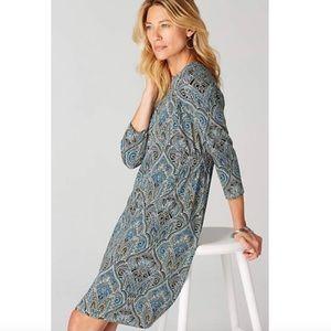 J. Jill Wearever Collection Paisley Dress NWT